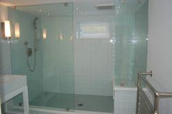 Bathroom sliding door designs